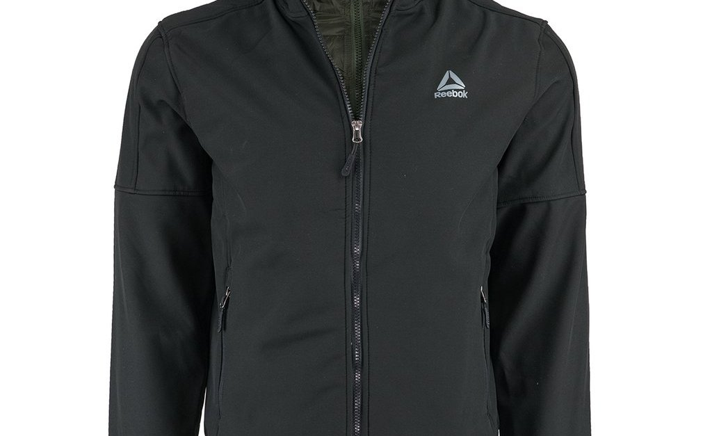 Reebok men's softshell active jacket for $27, free shipping