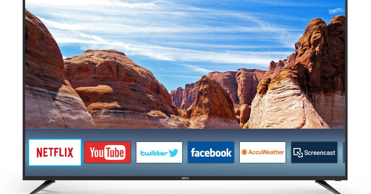 Seiki 70″ 4K HD smart TV for $550