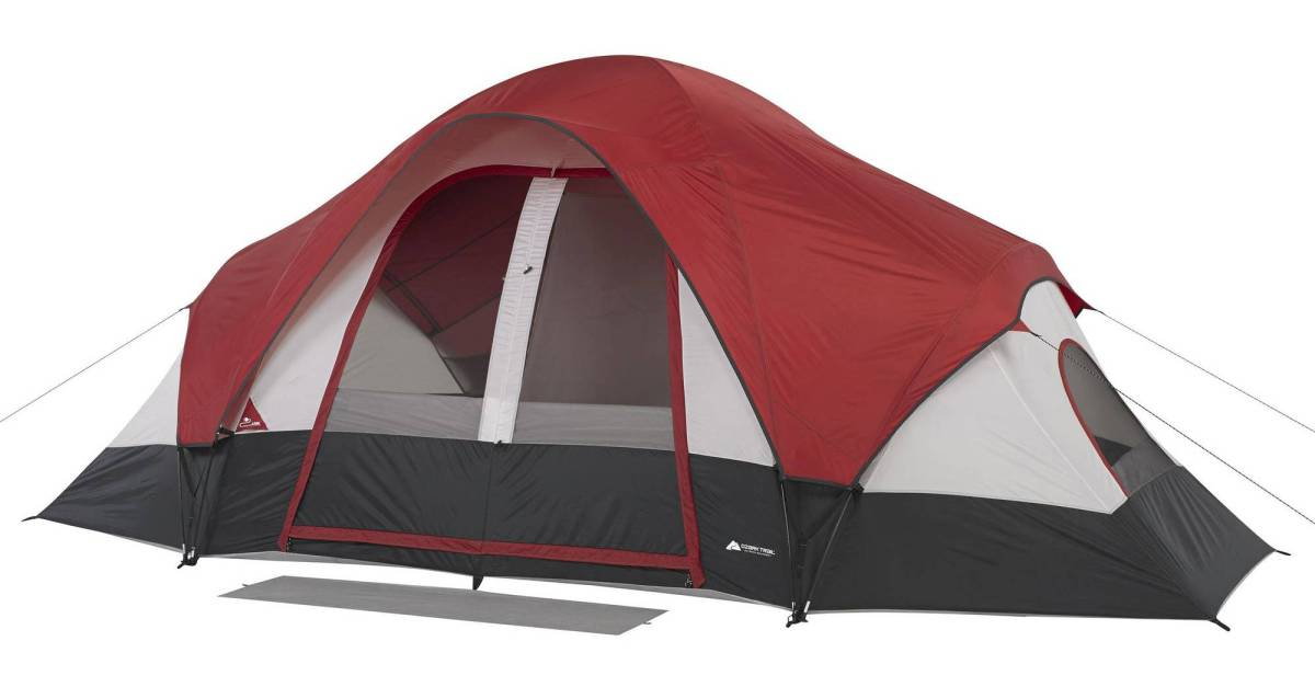Ozark Trail 8-person tent for $50