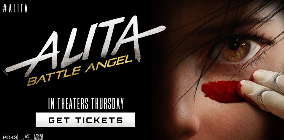 Take $5 off when you buy 2 Alita: Battle Angel movie tickets