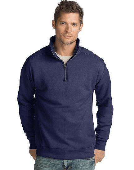cbad8263e Hanes men's Nano premium lightweight quarter zip jacket from $11, free  shipping