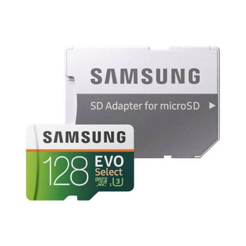 128GB Samsung EVO Select microSD memory card for $19