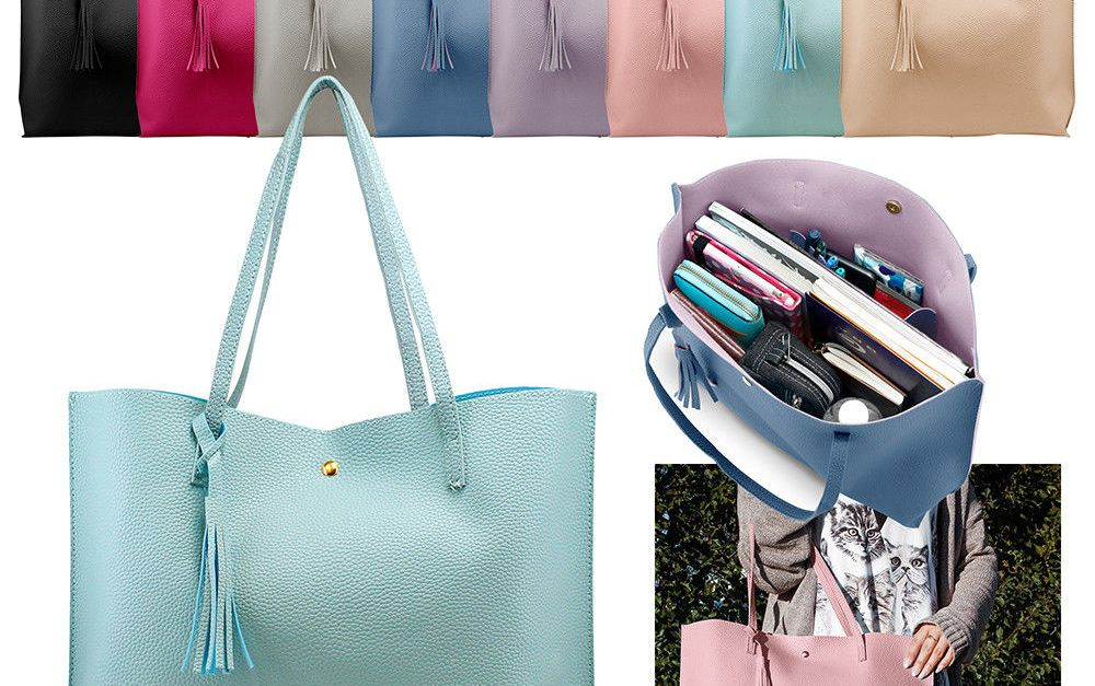 Women's shoulder tote bag for $12, free shipping