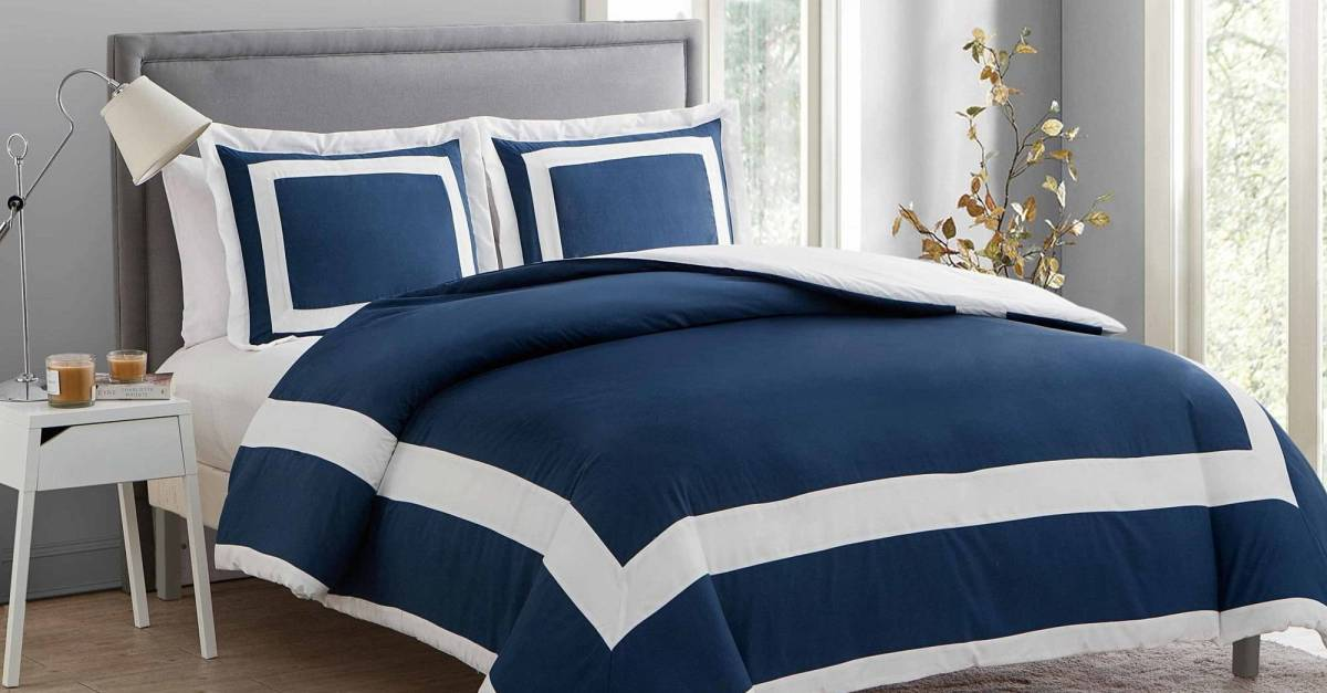VCNY 3-piece duvet cover sets from $22, free store pickup