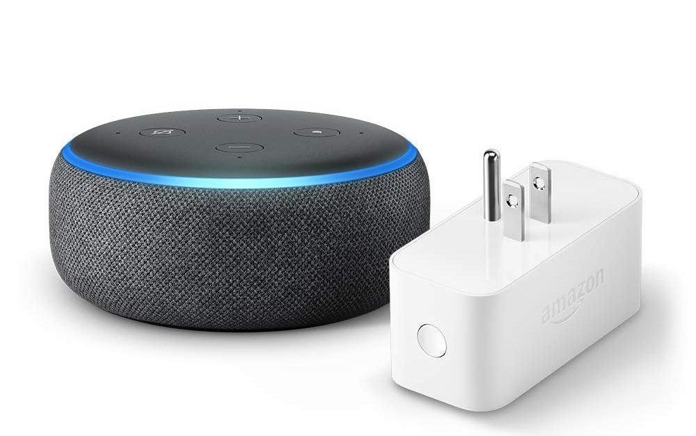 Amazon Echo Dot 3rd generation with Amazon smart plug for $40