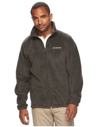 Men's Columbia Flattop Ridge fleece jacket for $18