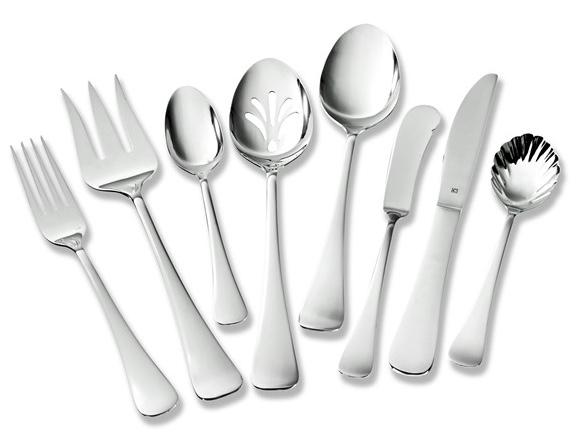 Cuisinart 65-piece flatware set for $40