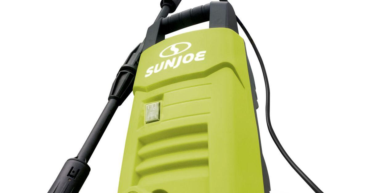 Refurbished Sun Joe electric pressure washer for $49, free shipping