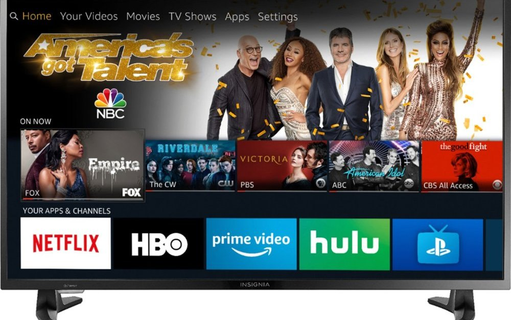 39″ Insignia Fire smart LED HDTV for $130