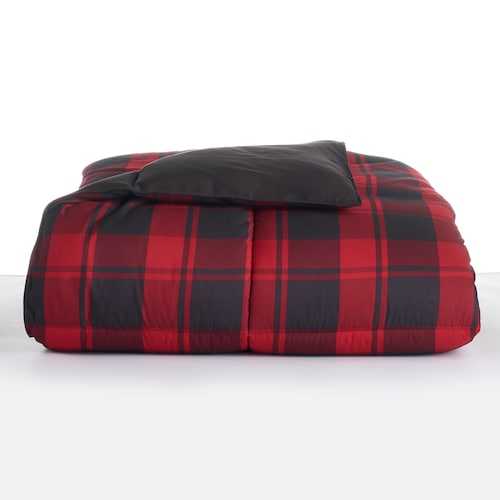 The Big One down alternative reversible comforter from $16