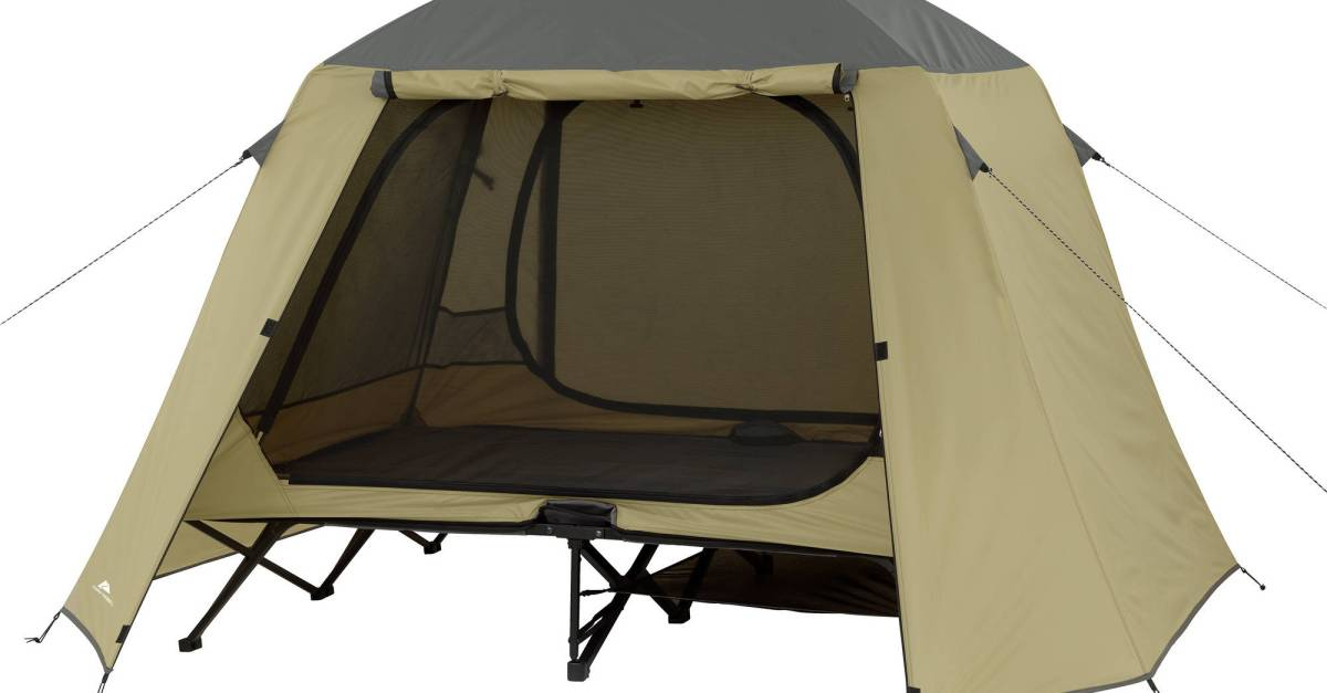 Ozark Trail 2-person cot tent for $99