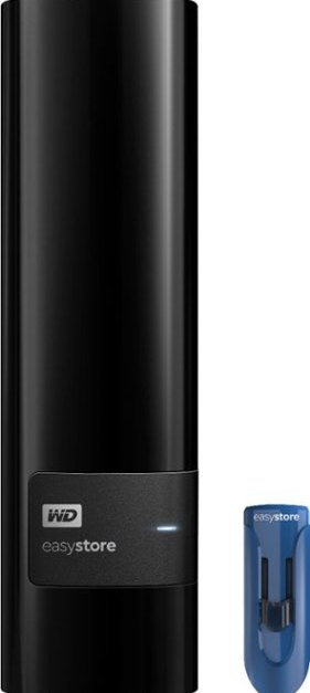 WD Easystore 10TB external hard drive for $160