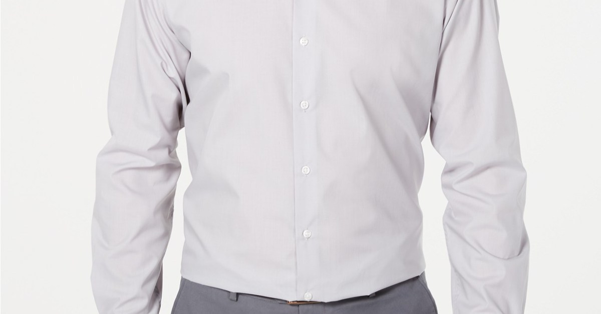 ec3fcdf0fbe Men's dress shirts from $10 at Macy's - Clark Deals
