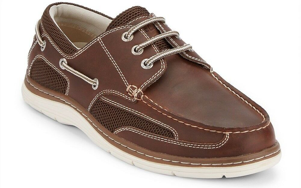 Dockers men's Lakeport genuine leather boat shoes for $33