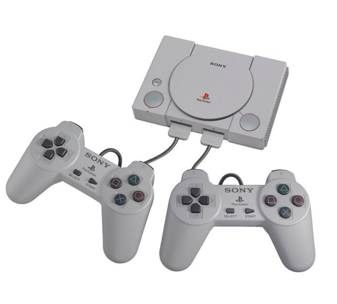 PlayStation Classic gaming console with 20 games for $26