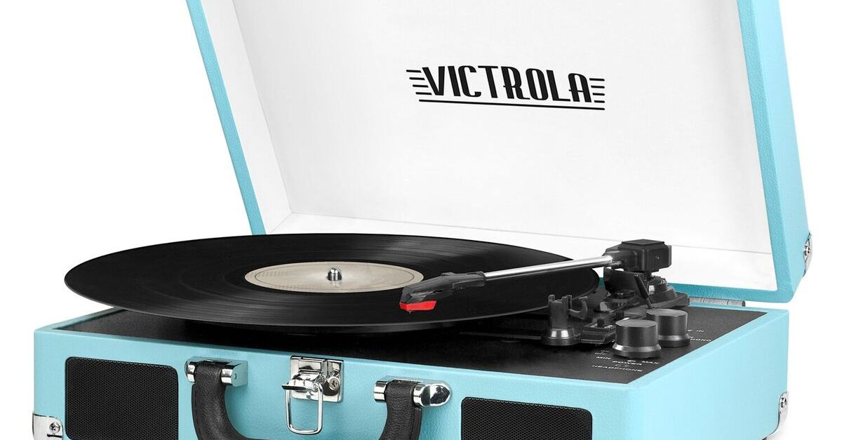 Victrola Bluetooth record player for $39, free shipping