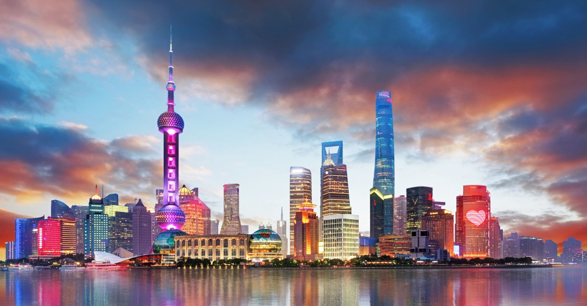 Flights to Shanghai in the $300s to $500s round-trip!