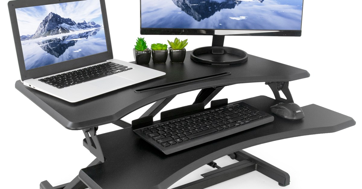 Today only: Vivo standing desk converters from $85