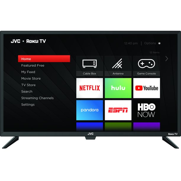 Price drop! JVC 32″ HD Roku smart LED TV for $98