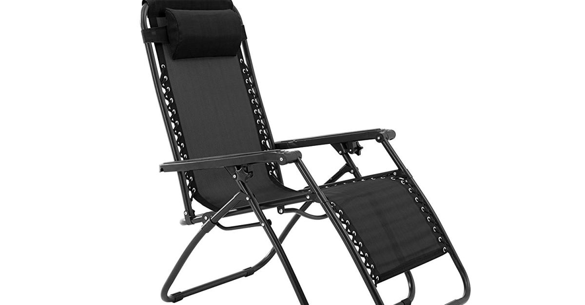 Today only: Zero gravity chairs from $30, free shipping
