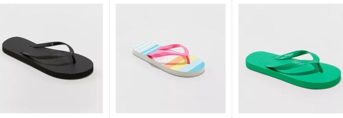 Buy one, get one FREE flip flops at Target