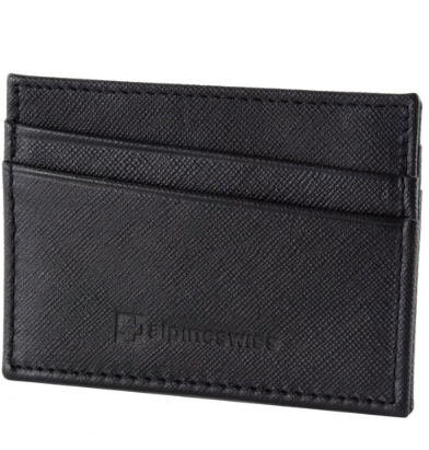 Alpine Swiss minimalist leather wallet for $5, free shipping