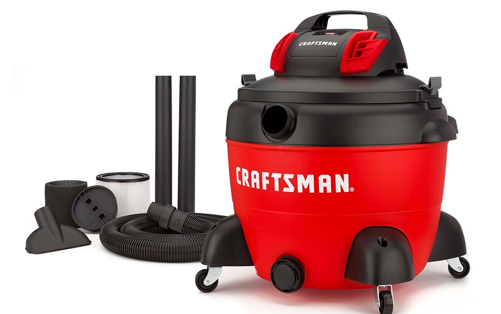 Craftsman 16-gallon wet/dry shop vacuum for $50