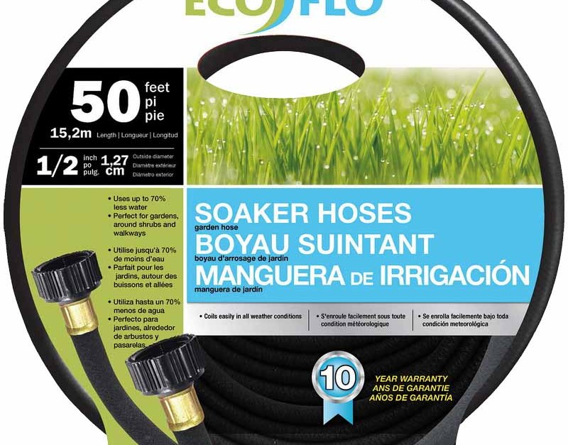 Today only: 50-ft Eco Flo Soaker hose for $5, free store pickup