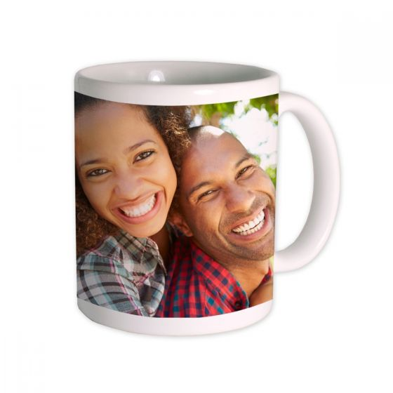Personalized Father's Day magic mug, bumper case or white mug for $10
