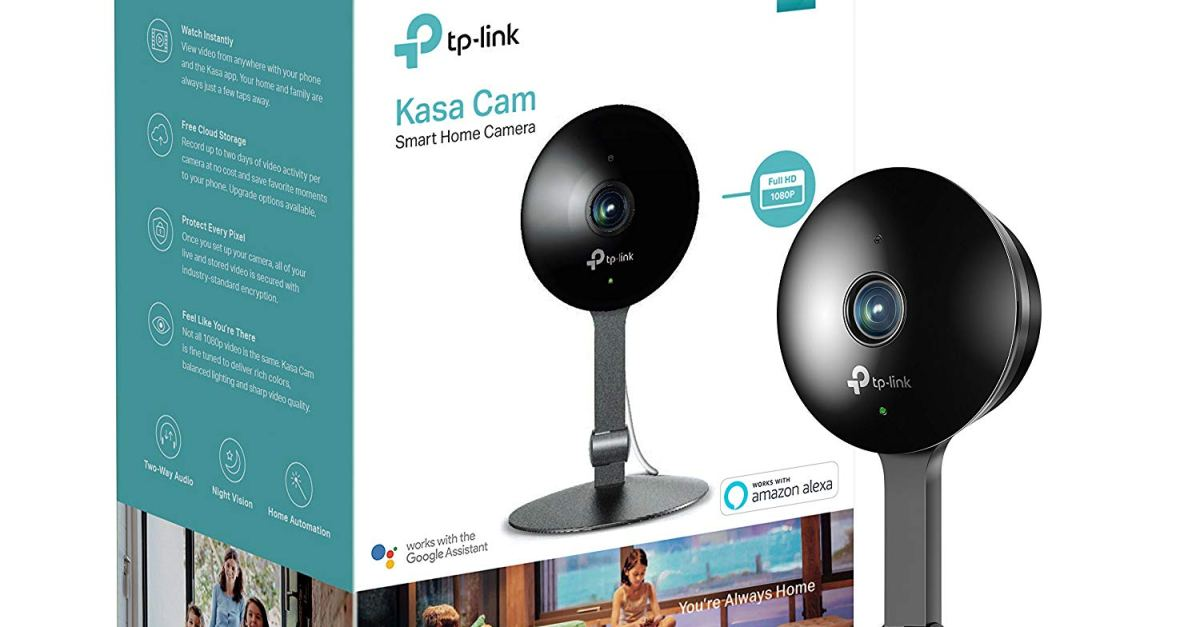 Price drop! TP-Link Kasa Cam smart home indoor Wi-Fi camera for $61