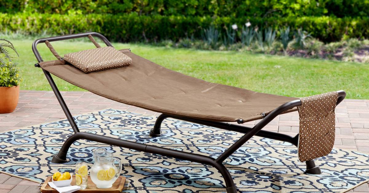 Mainstays Wentworth deluxe hammock with stand for $45