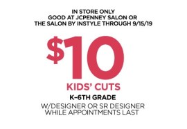 23e7e75f0d2 Kids haircuts for $10 at the JCPenney salon - Clark Deals
