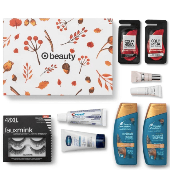 Target's beauty box includes skincare and makeup for $7!