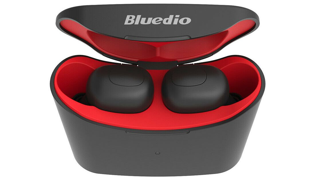 Bluedio T-elf Bluetooth earbuds with charging box for $16, free shipping