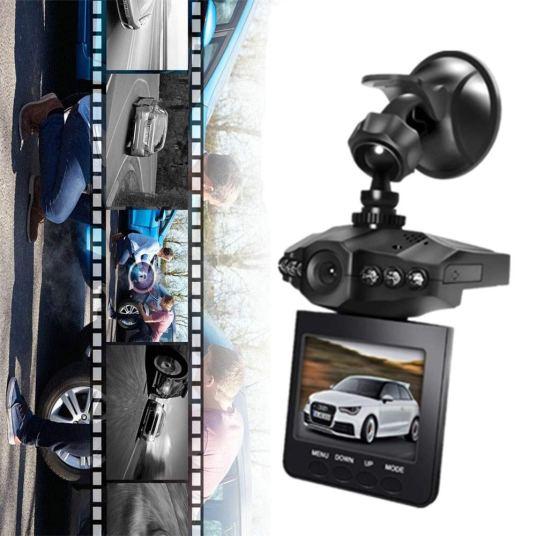 eBoTrade 2.5″ wide angle 6 LED night mode dash cam for $20