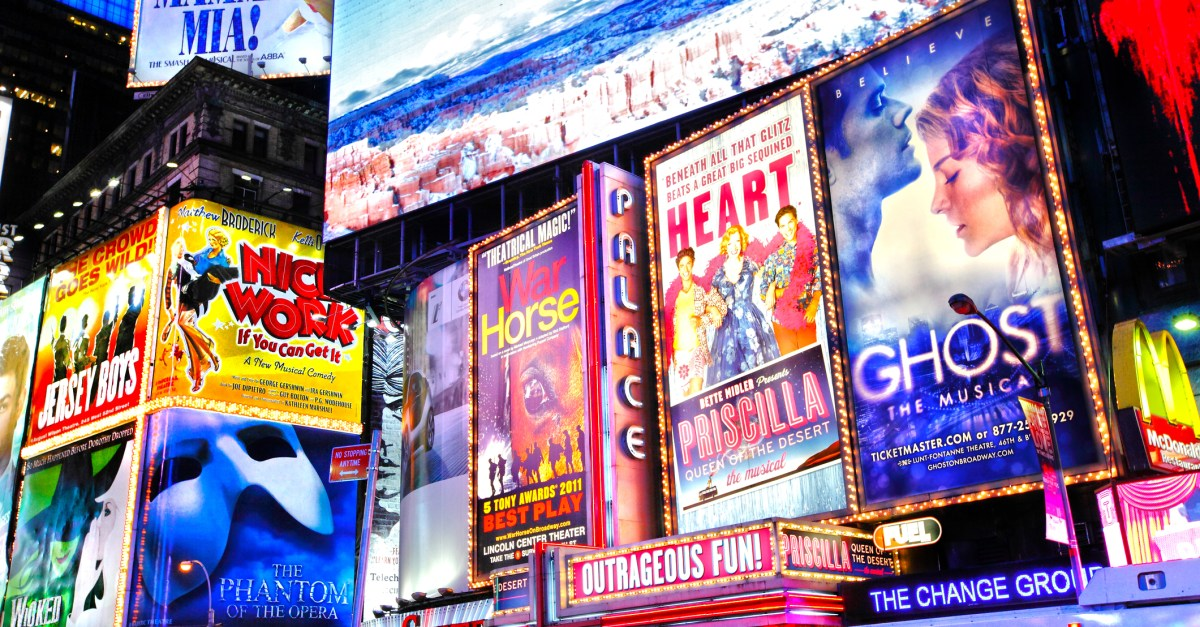 Get 2-for-1 Broadway show tickets during NYC Broadway week