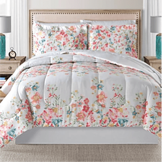 8-piece reversible comforter sets for $40