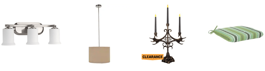 Save up to 75% on clearance items at Lowe's