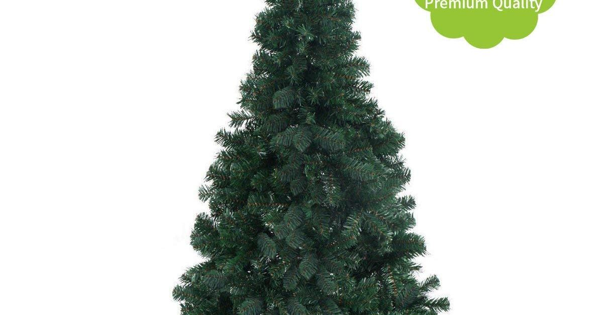 6-ft Jaxpety artificial Christmas tree for $21