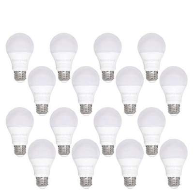 Ends today! Honeywell 800 Lumen A19 LED light bulbs for $15