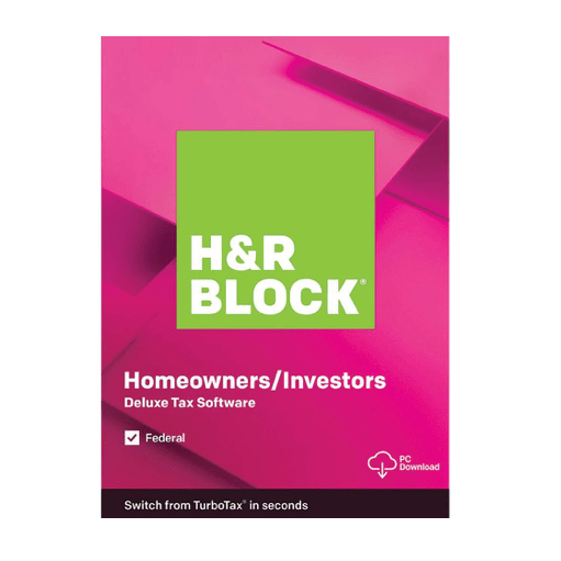 H&R Block 2019 federal + state tax software from $20