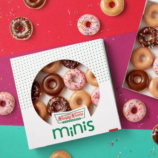 Enjoy a FREE mini donut at Krispy Kreme every Monday in January