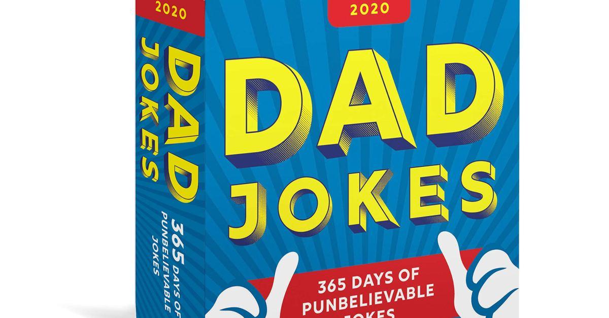 2020 Dad Jokes boxed calendar for $8
