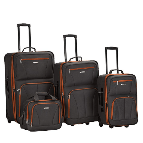 Rockland 4-piece luggage sets from $68