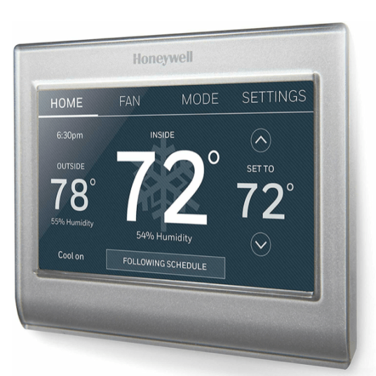 Today only: Honeywell Home Wi-Fi smart color refurbished thermostat for $100