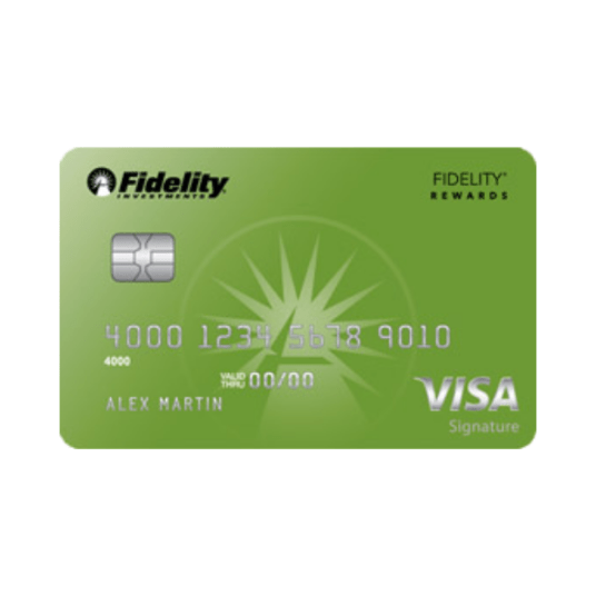 Get a $14 welcome bonus with the Fidelity Rewards Visa Signature