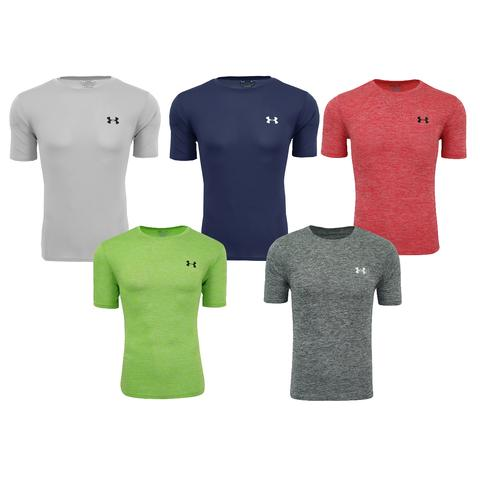 5-pack Under Armour men's short sleeve t-shirts for $40