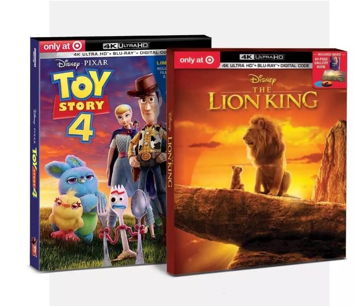 Take 30% off Disney movies at Target