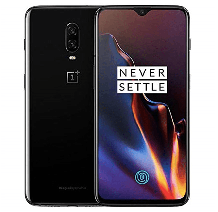 OnePlus 6T 128GB unlocked T-Mobile smartphone for $300