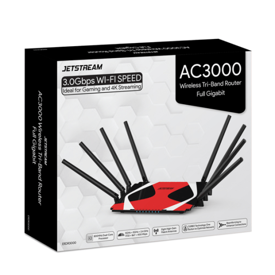 Jetstream AC3000 tri-band Wi-Fi gaming router for $70
